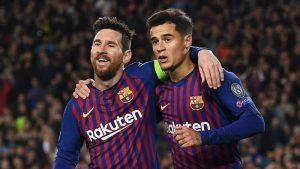 Curinho y Messi