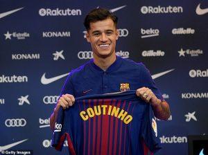 Comprar Camisetas de Futbol Barcelona Coutinho