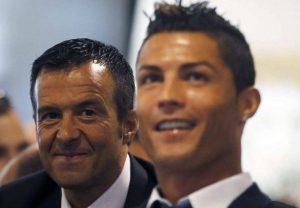 Cristiano Ronaldo y Mendes